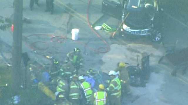 Bethel Park crash