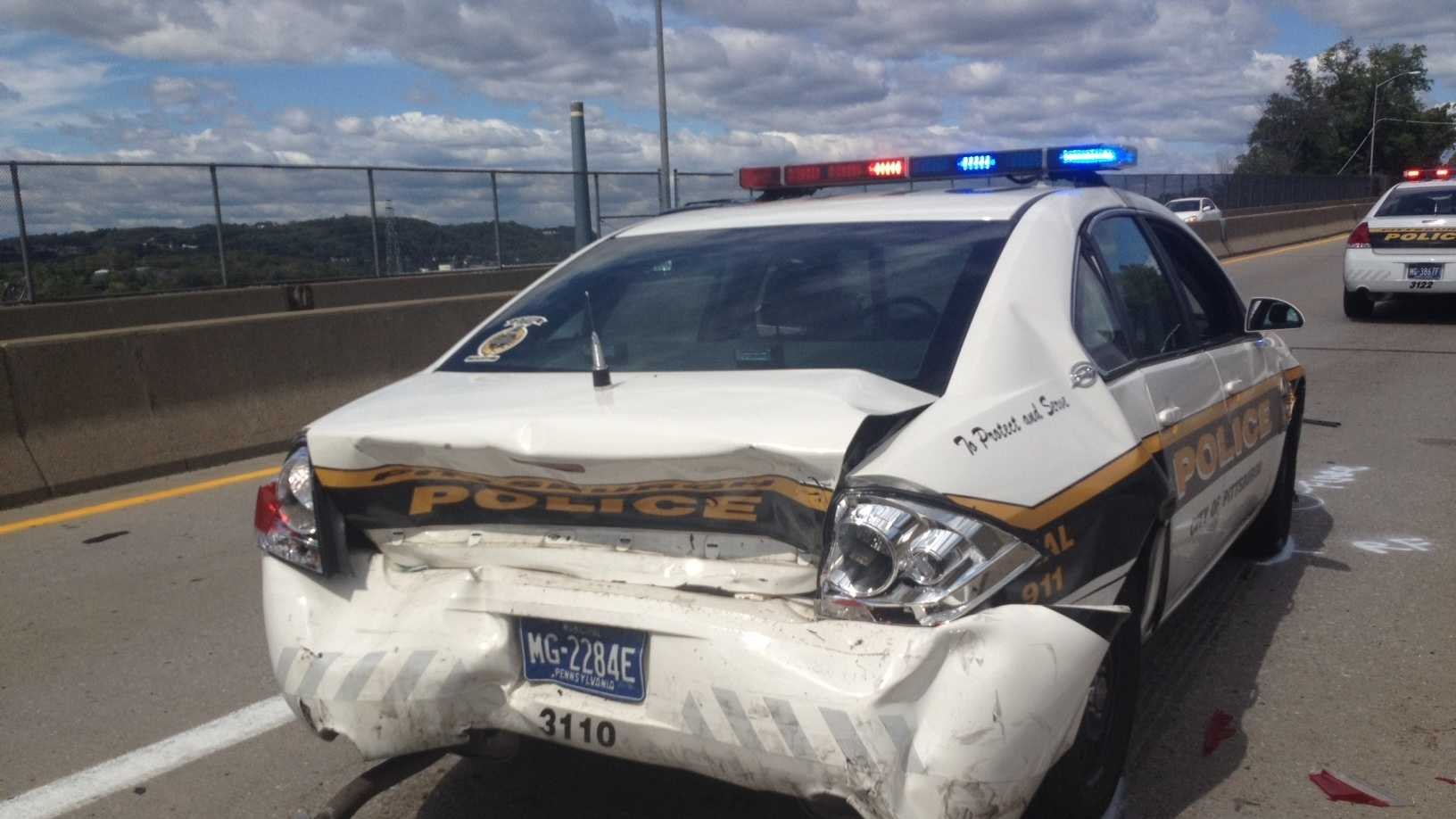 Route 65 police crash