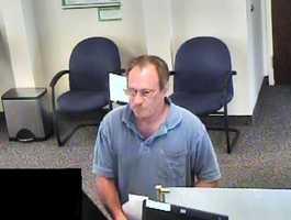 Surveillance image of Bucket List Bandit suspect