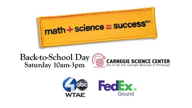 math + science = success Back-to-School Day