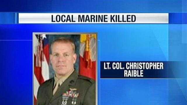 Lt. Col. Christopher Raible