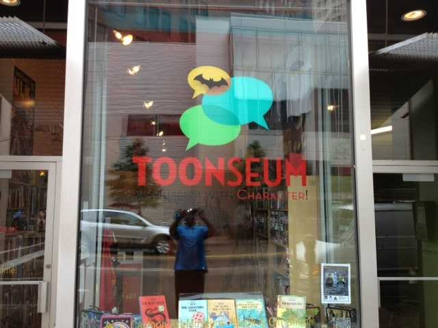 The ToonSeum on Liberty Avenue in downtown Pittsburgh