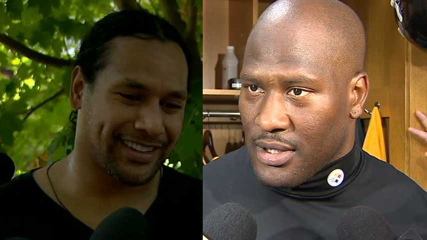 Troy Polamalu, James Harrison
