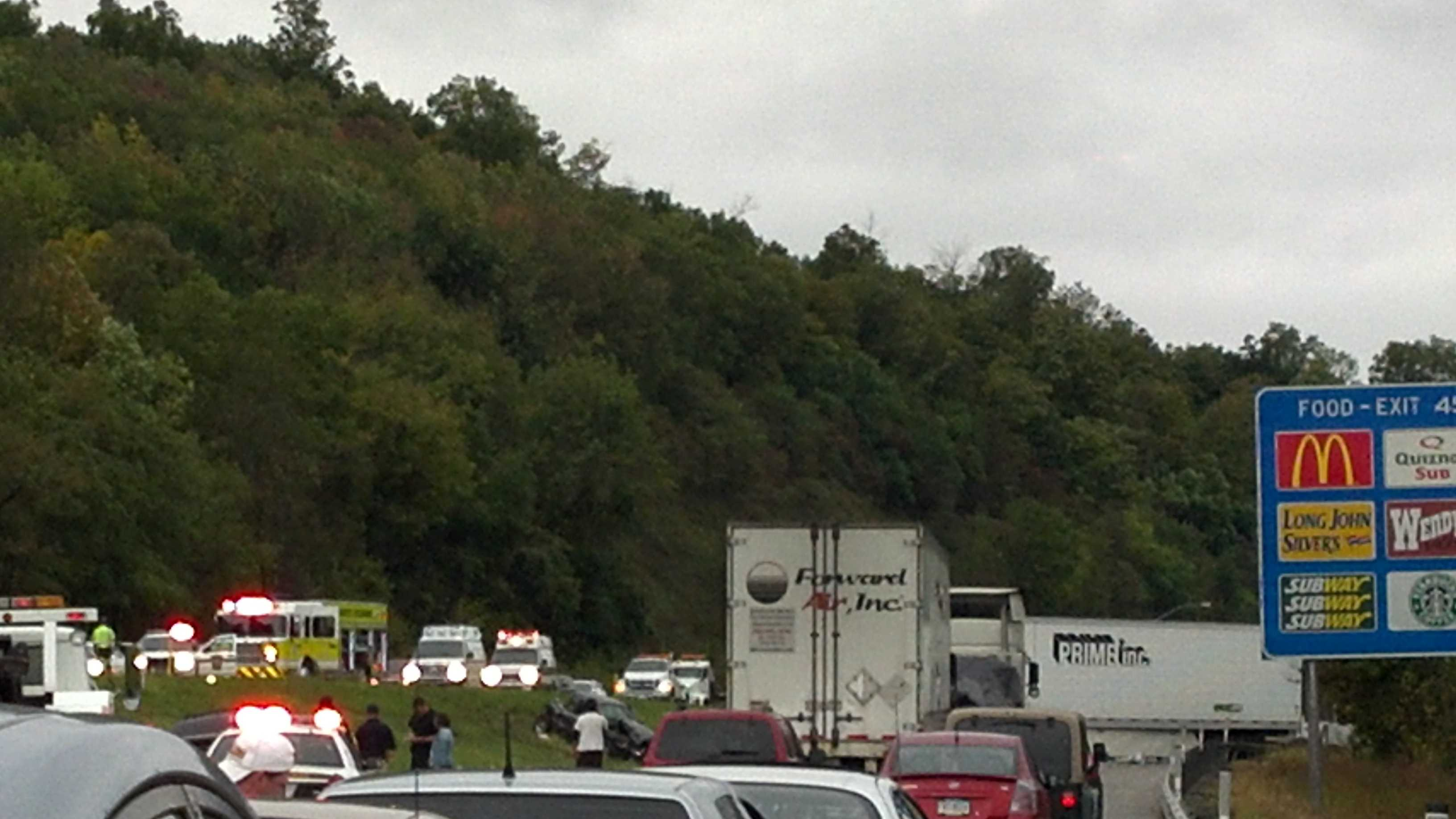 I-79 tractor-trailer crash