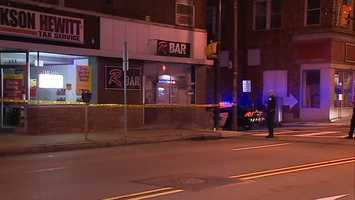 Gunshots were fired at R Bar on West Liberty Avenue in Dormont.