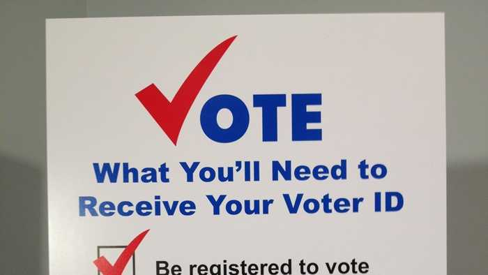 This poster was made in September 2012, describing voter ID requirements for elections in Pennsylvania.
