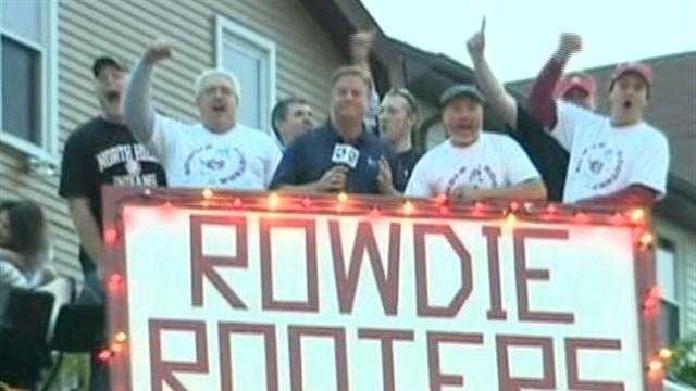 Guy Junker with Rowdie Rooters