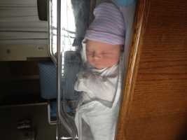 Shannon Perrine's baby daughter, Catherine Mary