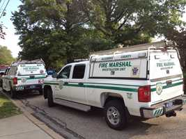 Allegheny County fire marshal truck