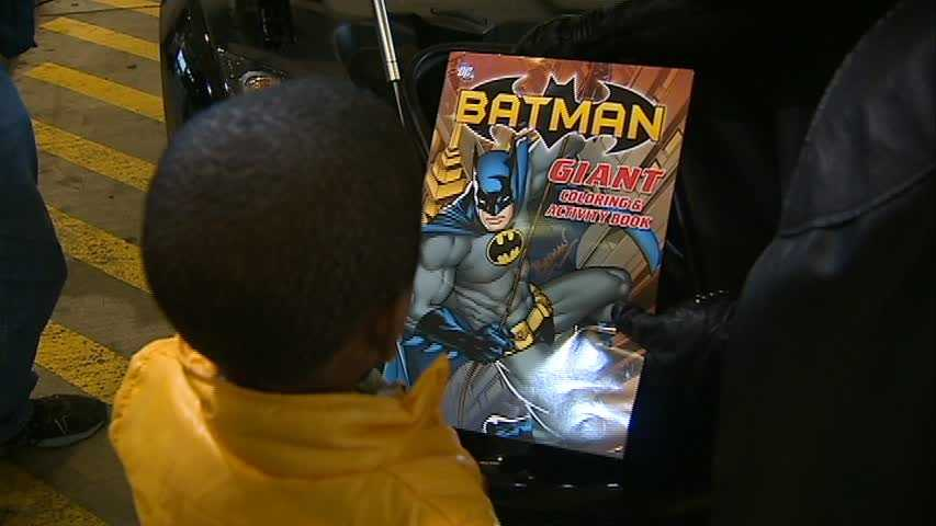 """Robinson told Channel 4 Action News' Ashlie Hardway his son was obsessed with Batman when he was younger, and that it wasn't long before """"his obsession became my obsession."""""""