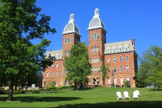 The W&J campus in Washington, Pa.