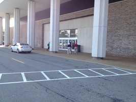 Monroeville Mall entrance