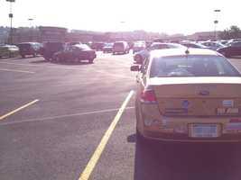 Monroeville Mall parking lot