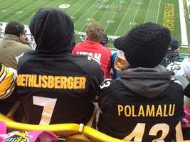 Steelers fans at Heinz Field