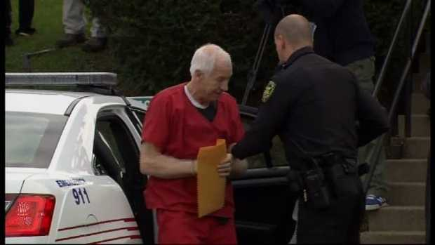 Sandusky was sentenced to 30 to 60 years in state prison. It's effectively a life sentence for the 68-year-old former coach.