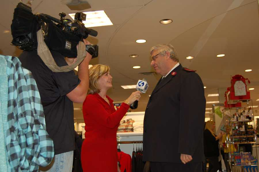 PITTSBURGH, PA - WTAE Action News Anchor Sally Wiggin talking about Tuesday night's event with the Salvation Army