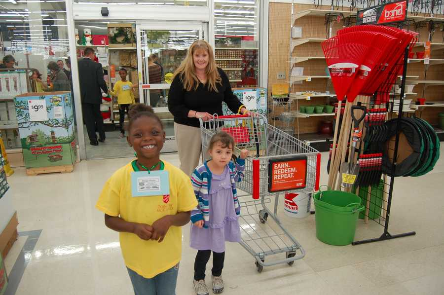 Business Manager Amy Ferree and her shopping team