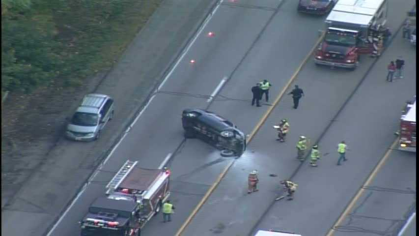 img-Route 28 rollover crash