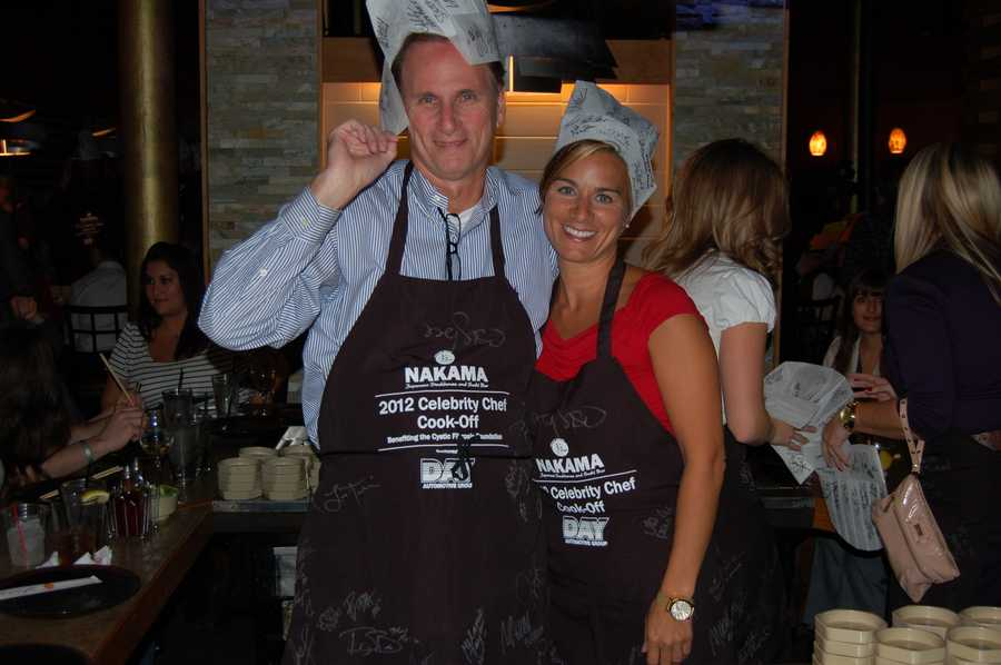 Marcie Cipriani and her co-chef