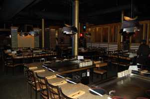 The quiet right before the guests begin to come in at Nakama Japanese Steakhouse and Sushi Bar