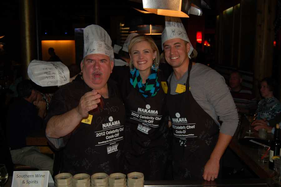 WTAE's Janelle Hall and her co-chefs