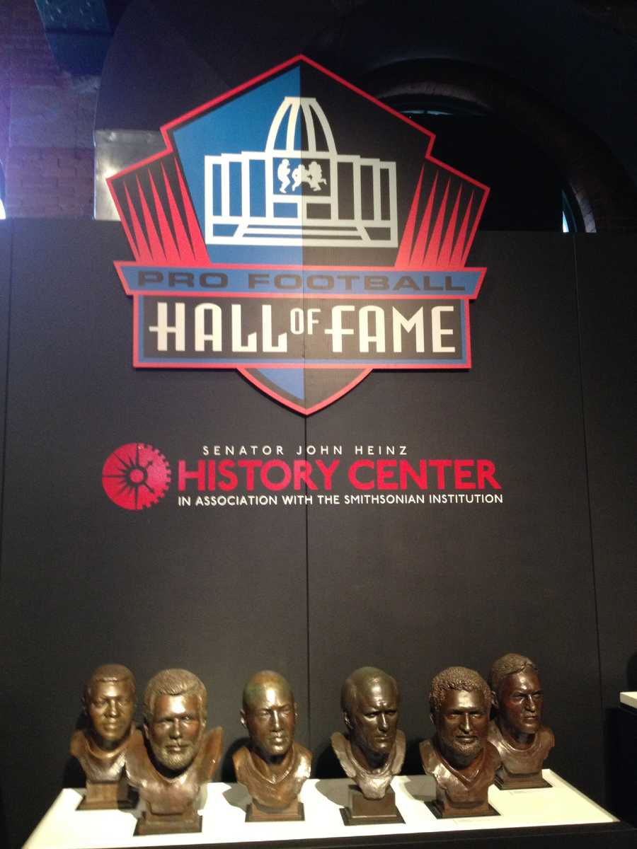 Steeler fans looking to save a little on gas money won't have to drive all the way to Canton to experience Hall of Fame history this week.