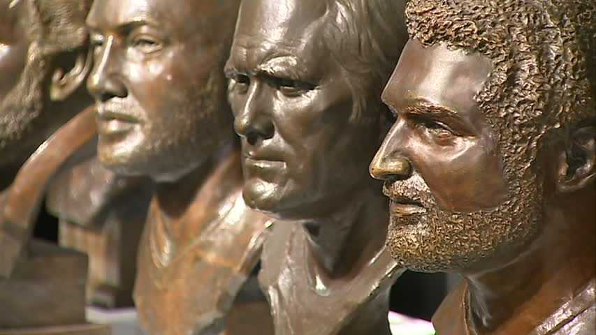 From left to right: Mel Blount, Terry Bradshaw and Franco Harris