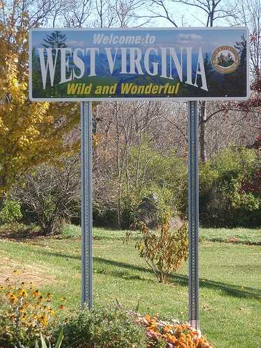 The HIGHEST chance is in West Virginia- 1 in 40