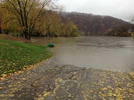 The Youghiogheny River in Boston (near McKeesport).