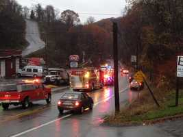 Lebanon Road (Route 885) in West Mifflin and Pittsburgh was closed because of storm debris and downed utilities.