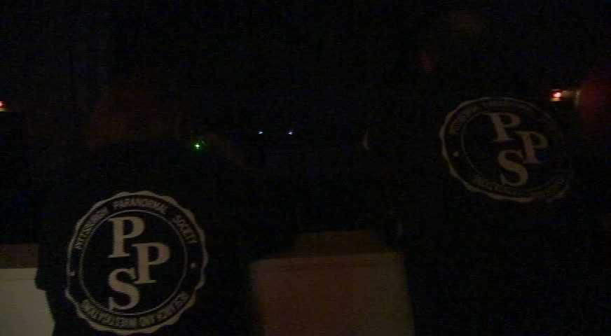 The Pittsburgh Paranormal Society joined Channel 4 Action News anchor Wendy Bell for a ghost hunt in the building, bringing along cameras, digital voice recorders and special sensors.