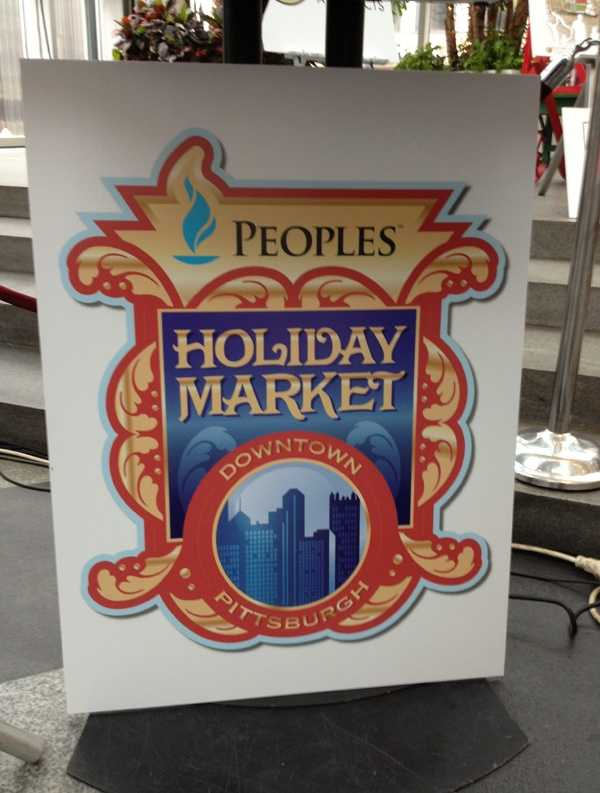 """A European-style """"Holiday Market"""" in Market Square is a new feature this year."""