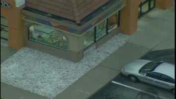 A Taco Bell employee crashed a car into the restaurant in Green Tree early Monday morning, according to Allegheny County 911.