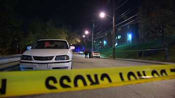 Dayon Shelton, 21, was foundlying in the street on Brushton Avenue.