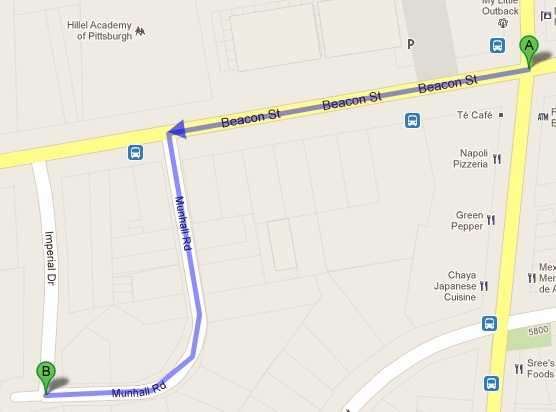A Google map shows the path of the chase, starting at the bank and ending with the arrest.