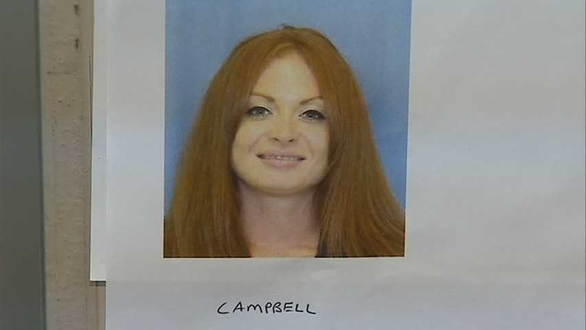 Ashley Nicole Campbell, charged with delivery and possession with intent to deliver.