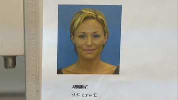 Selene Amber Vicini, charged with prostitution.