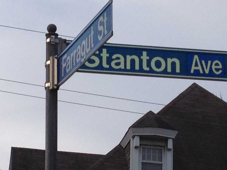 Stanton and Farragut in Highland Park