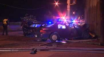 Several people are hurt in an early-morning head-on crash on the West Carson Street side ofthe Corliss Tunnel.