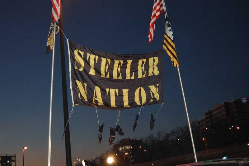 Need we say more? You are entering Steeler territory.