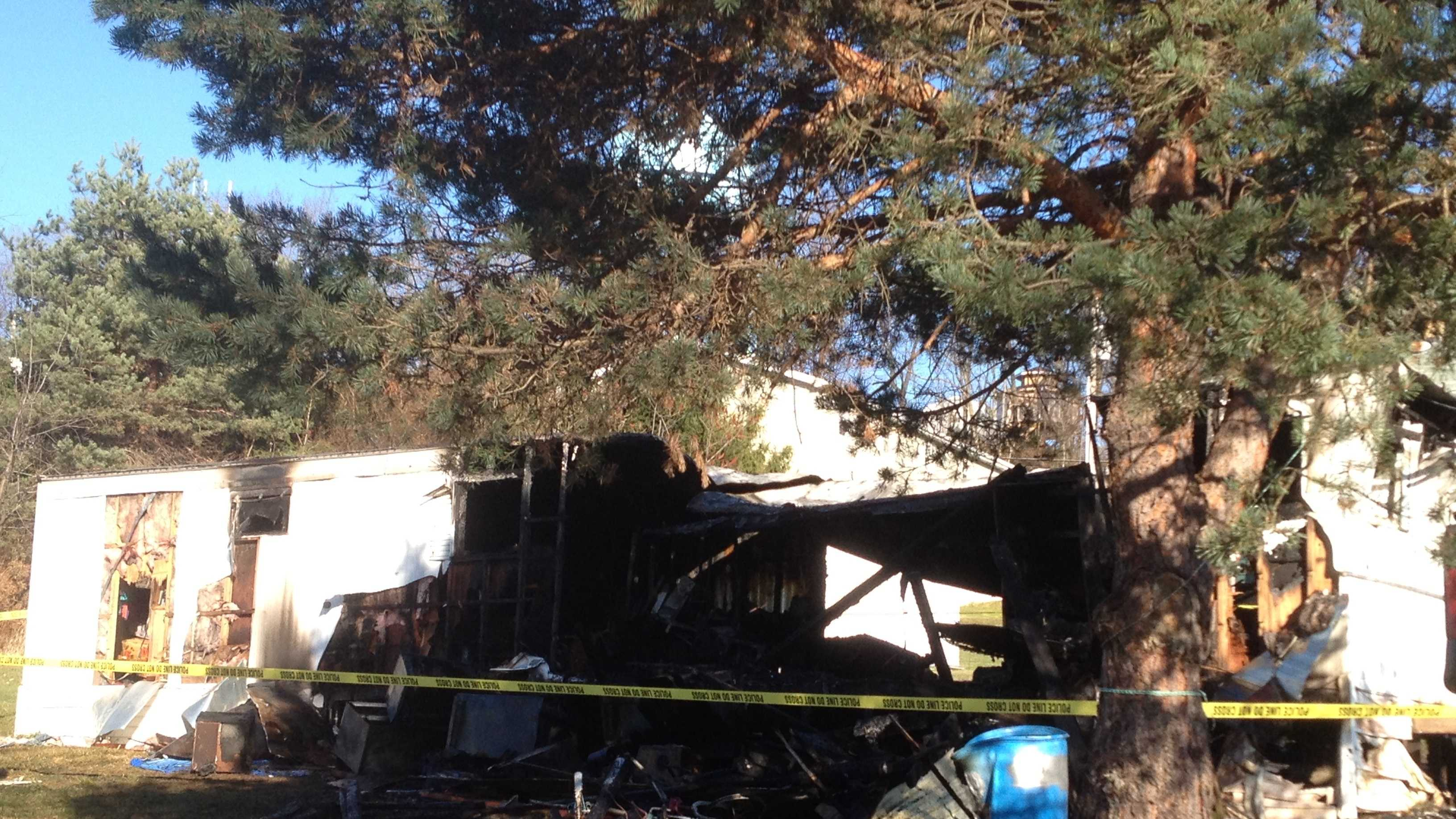 White Township fire