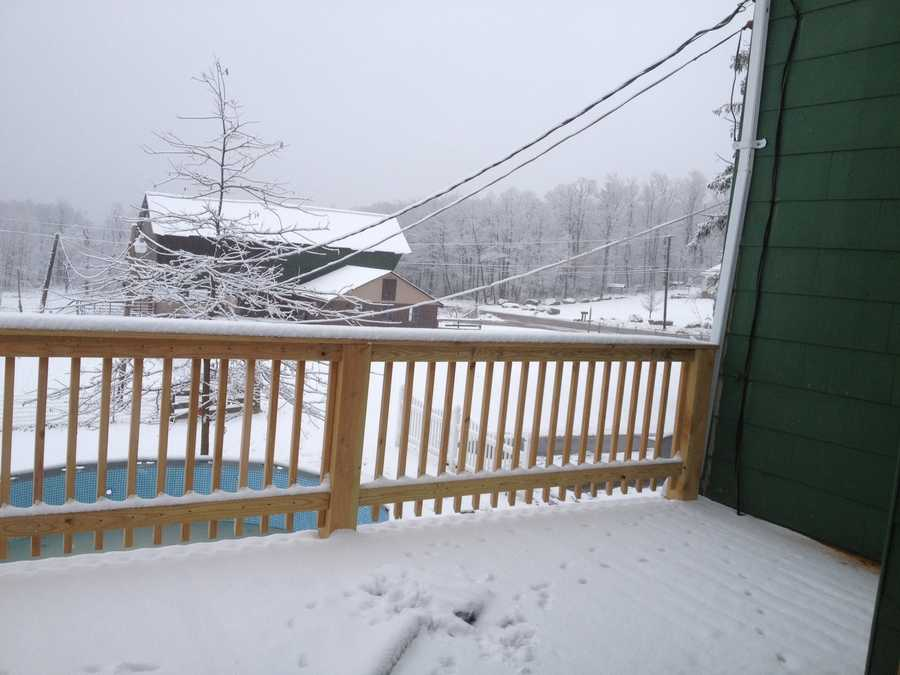 Grantsville Snow in Maryland - Submitted by Teresa Smith