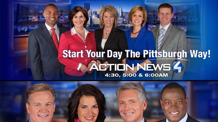 WTAE Channel 4 Action news #1 in Morning & Late News Monday - Sunday