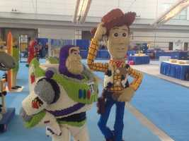 """Buzz Lightyear and Woody from """"Toy Story"""""""