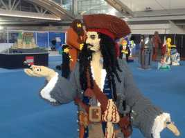 """Jack Sparrow from """"Pirates of the Caribbean"""""""