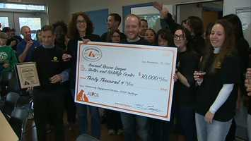 The Animal Rescue League of Western Pennsylvania won $30,000 in the ASPCA Rachael Ray $100K Challenge.