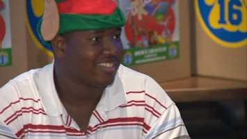 Rookie offensive lineman Kelvin Beachum
