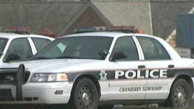 Cranberry Township police car