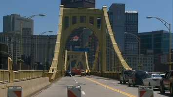 Andy Warhol Bridge (a.k.a. the Seventh Street Bridge)