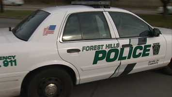 Forest Hills police say it went on for some time, and they were watching.
